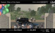 Rise of the Planet of the Apes PreVis / PostVis